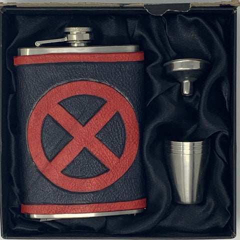 X-men Inspired Flask Set