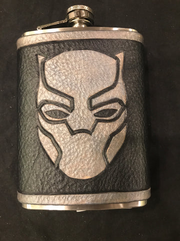 Black Panther Inspired Flask Set