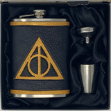 Deathly Hallows Inspired Flask Set