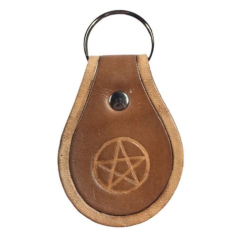 Supernatural Pentagram Key Chain