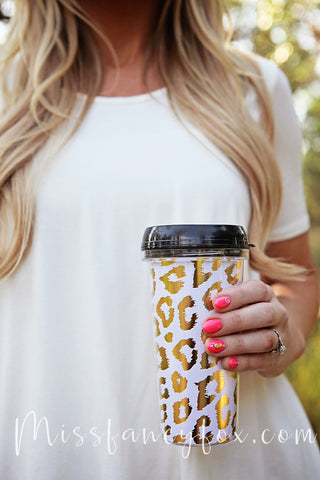 Leopard Travel Coffee Mug