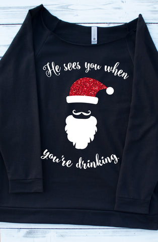 Not So Ugly Christmas Sweater Santa
