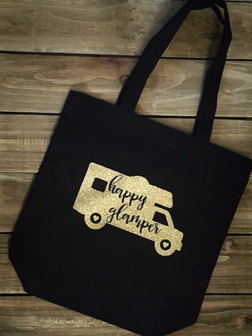Happy Glamper Tote Bag