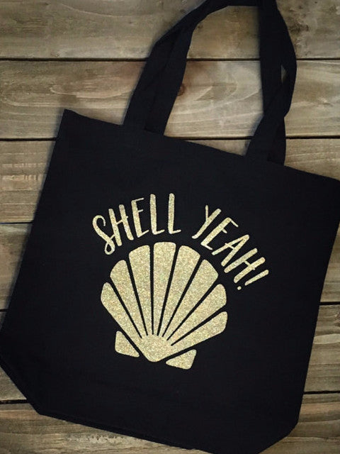 Shell Yeah Tote Bag