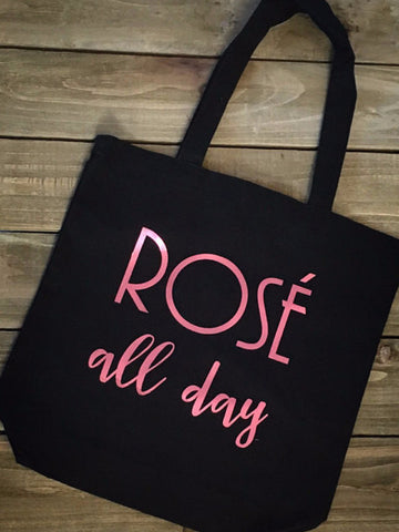 Rose' All Day Tote Bag