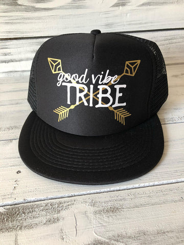 Good Vibe Tribe Trucker Hat
