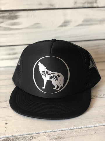 She-Wolf Trucker Hat