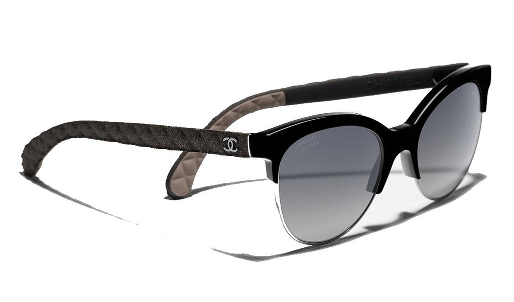 CHANEL CH5342 C50158 Pantos Black Quilting Collection - PER IL SOLE - 4