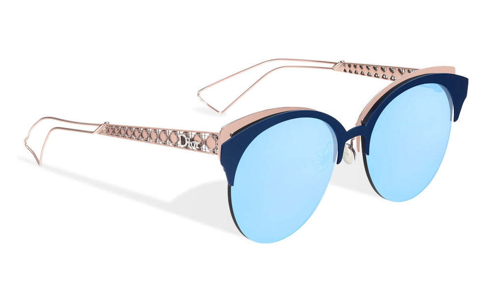 DIOR DIORAMA CLUB FBXA4 Blue and Pink - PERILSOLE