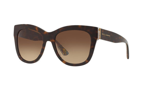 DOLCE & GABBANA DG4270 303713 Top Havana Sicilian Carretto Collection