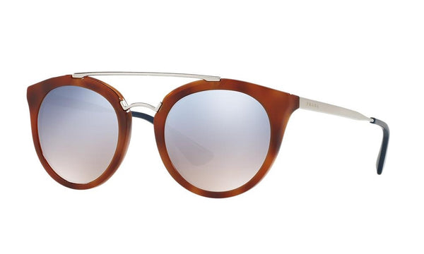 PRADA PR 23SS USE5R0 Cinema Striped Light Brown