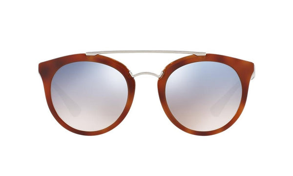 PRADA PR 23SS USE5R0 Cinema Striped Light Brown-Perilsole