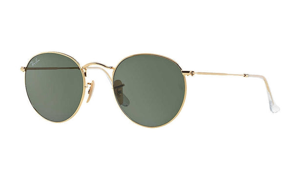 RAYBAN RB3447 001 Round Metal