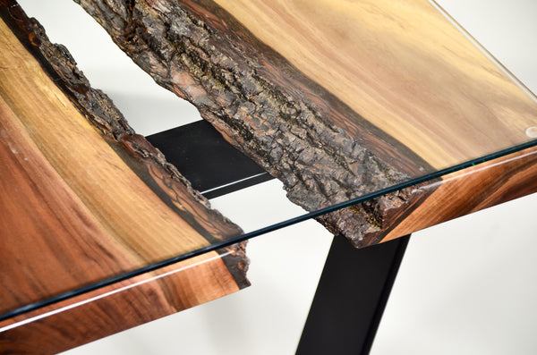 "Table de salon ""Live Edge"" /  Klondike"