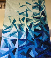 Lovely Blues Quilt Front