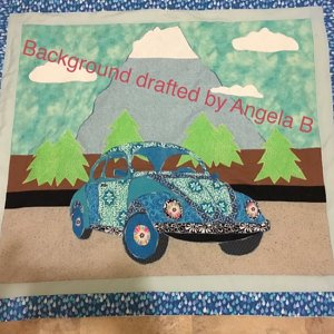 BJ Designs Barbies Bug Wall Hanging