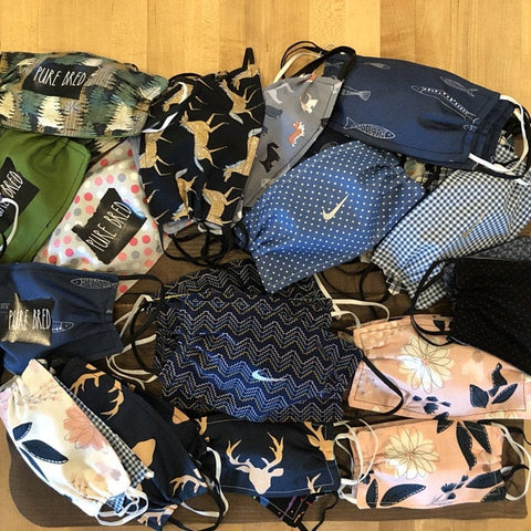 Donated Fabric Face Masks