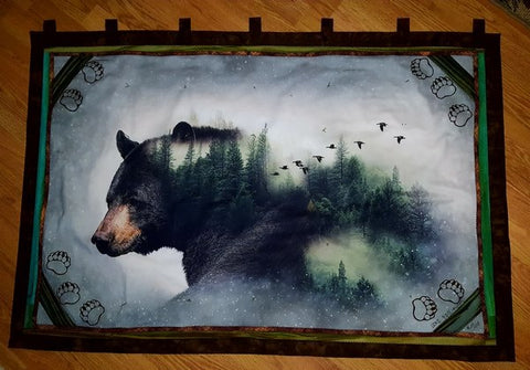 Call of the Wild Bear Wall Hanging