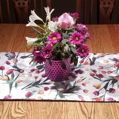 All Purpose Flower Table Runner by S.R.