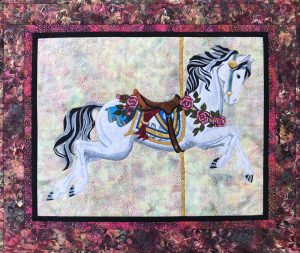 Toni Whitney Design Carousel Horse Applique Quilt Kit