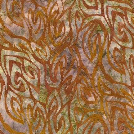 Robert Kaufman Wild Abstract Skin Batik - Beaverhead Treasures LLC