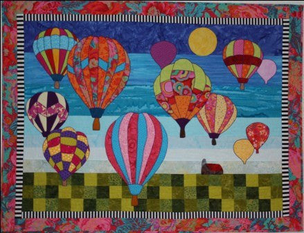 BJ Designs & Patterns Morning Flight Applique Quilt Pattern