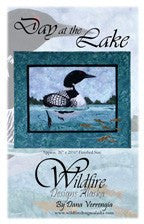 Wildfire Designs Alaska Day at the Lake Applique Quilt Kit with Pattern and Fabric Kit