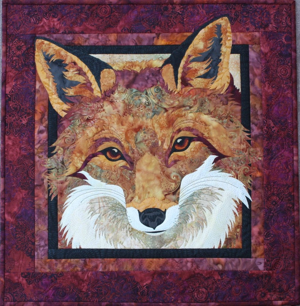 Toni Whitney Design Red Fox Applique Quilt Pattern - Beaverhead Treasures LLC