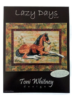 Toni Whitney Design Lazy Days Applique Quilt Pattern - Beaverhead Treasures LLC