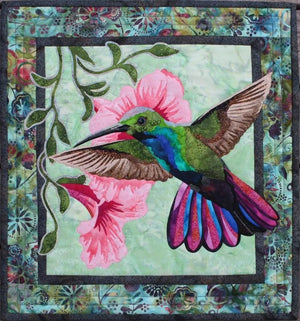 Toni Whitney Design Hummingbird Applique Quilt Pattern - Beaverhead Treasures LLC