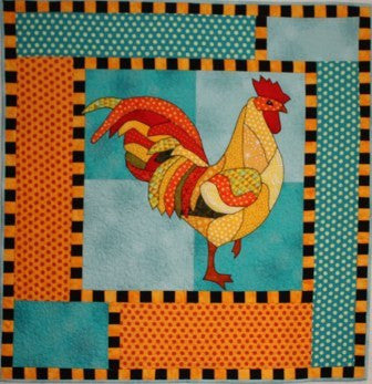 BJ Designs & Patterns Reggie Applique Quilt Pattern - Beaverhead Treasures LLC
