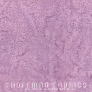 Hoffman Fabrics Watercolors Heather Purple 1895-117-Heather Bali Batik Fabric