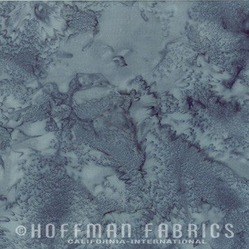 Hoffman Fabrics Watercolors Smoke Grey 1895-173-Smoke Bali Batik Fabric