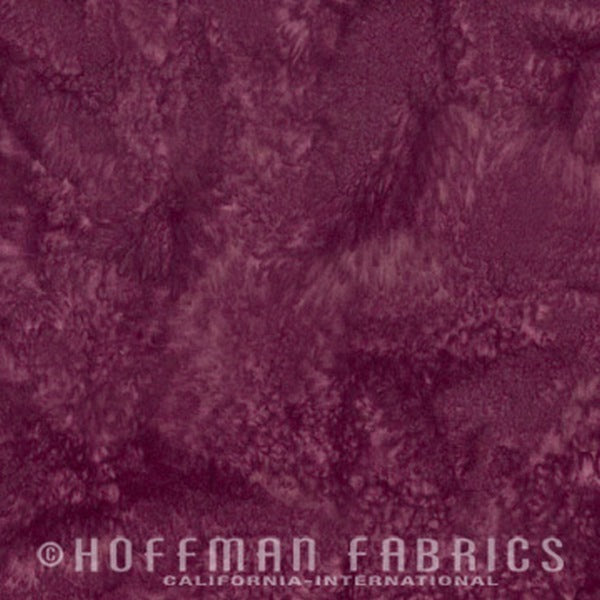 Hoffman Fabrics Watercolors Sonoma Purple 1895-241-Sonoma Bali Batik Fabric