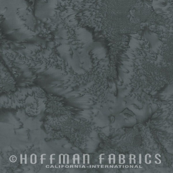 Hoffman Fabrics Watercolors Stone Grey Batik Cotton Fabric 1895-302-Stone