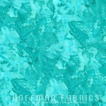 Hoffman Fabrics Watercolors Spearmint Green Blue Batik Fat Quarter 1895-445-Spearmint