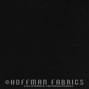 Hoffman Fabrics Watercolors Raven Black Batik Fabric 1895-494-Raven