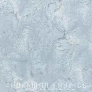 Hoffman Fabrics Watercolors Breakers Blue Grey 1895-508-Breakers Fabric