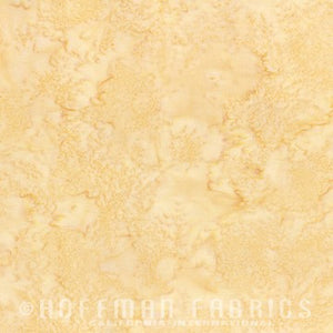 Hoffman Fabrics Watercolors Bluff Cream Tan 1895-511-Bluff Bali Batik Fabric