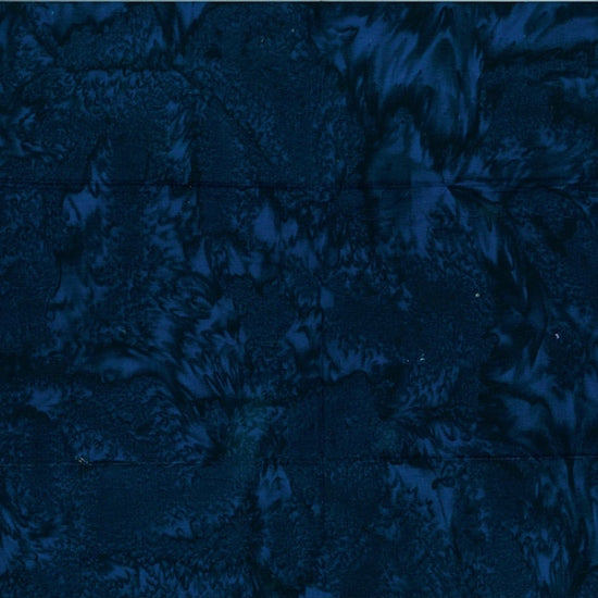 Hoffman Fabrics Watercolors Papyrus Batik Fabric 1895-682-Deep-Blue
