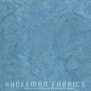 Hoffman Fabrics Watercolors Slate Blue Batik Fat Quarter 1895-92-Slate
