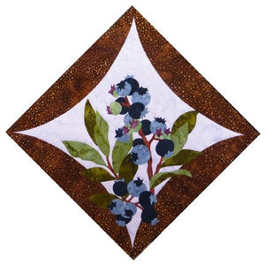 Wildfire Designs Alaska Northern Flora Block 6 Blueberry