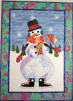BJ Designs & Patterns Snowball Applique Quilt Pattern - Beaverhead Treasures LLC