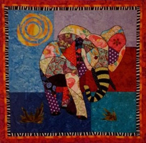 BJ Designs & Patterns Ellie Elephant Applique Quilt Pattern - Beaverhead Treasures LLC
