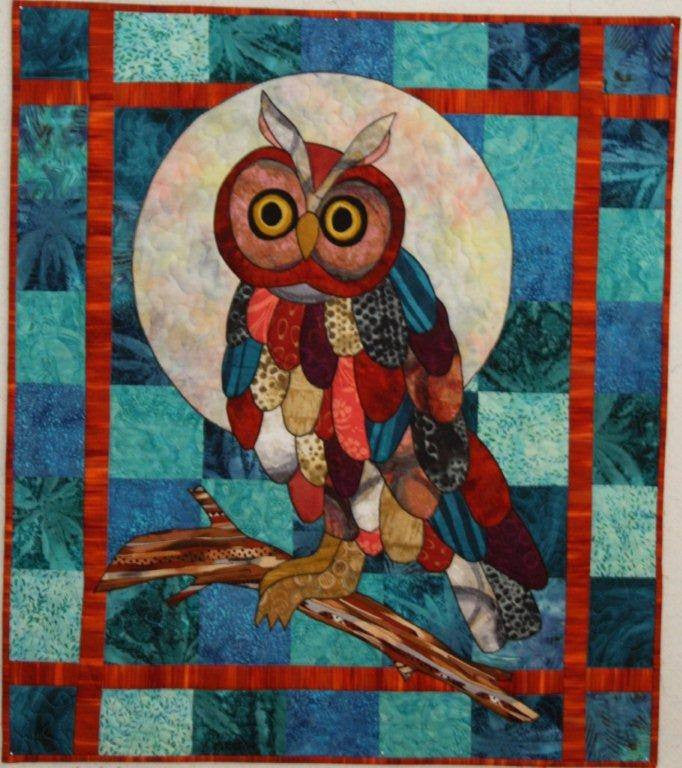 BJ Designs & Patterns Hoot Applique Quilt Pattern