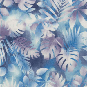 RJR Fabrics Blue Leaves - Beaverhead Treasures LLC