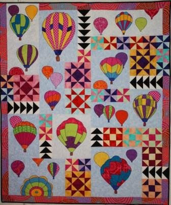 BJ Designs & Patterns Mass Ascension Applique Quilt Pattern - Beaverhead Treasures LLC