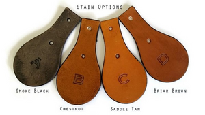 Leather Key Chain Stain Options