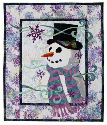 Wildfire Designs Alaska Wanna Build a Snowman Applique Quilt Pattern - Beaverhead Treasures LLC