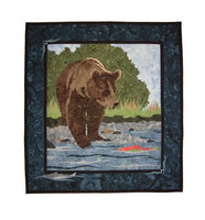 Wildfire Designs Alaska Day on the River Applique Quilt Pattern - Beaverhead Treasures LLC
